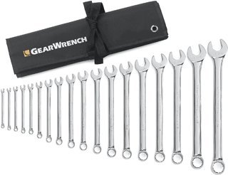 18 Pc. Sae Combination Wrench Set-2pack by GearWrench