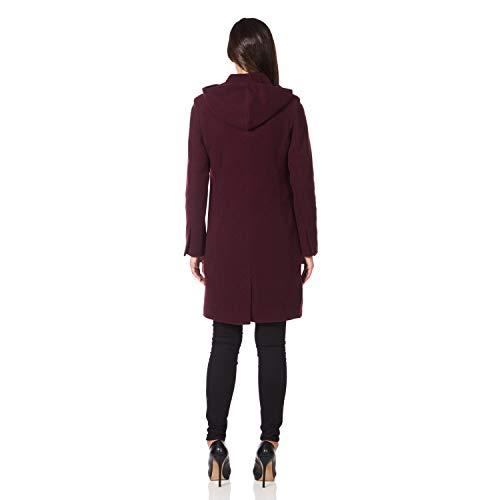 Longues Femme Manteau Bordeaux Anastasia Manches qO6xzwnBX
