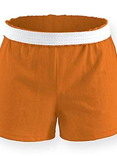 (Soffe Juniors' Jersey Short (Orange) (Medium))