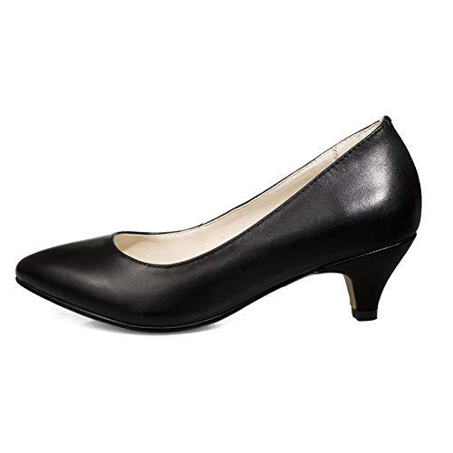Mms06433 Con Negro Sandalias Cuña Mujer 1to9 Szdq1S