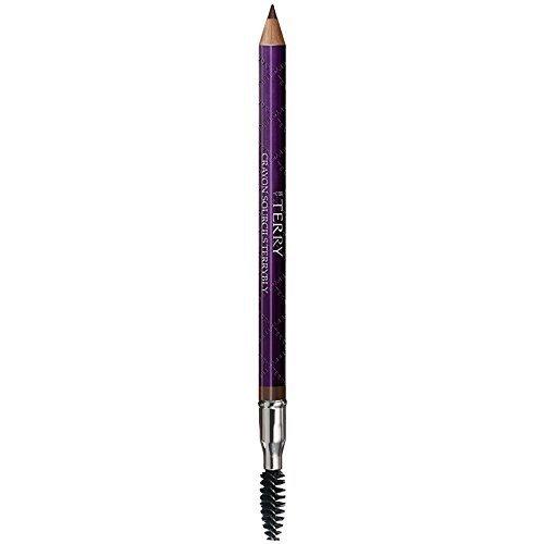 BY TERRRY Crayon Sourcils Terrybly Eyebrow Pencil Definer, No.2 Ash Brown, 0.04 (Perfume Crayon Pencil)