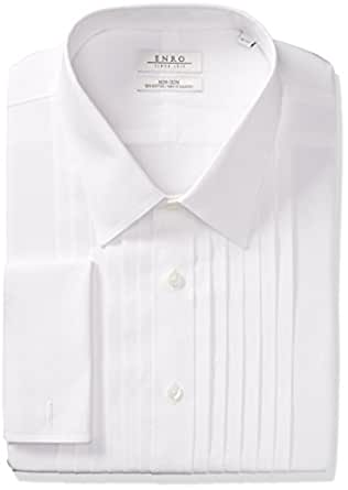 Enro Men 39 S Big And Tall Classic Fit Solid French Cuff