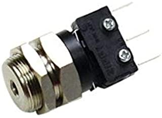 product image for Clippard SAS-1A1-20 Sub-Miniature Air Switch, 5 Amp, QC Terminals, 20 psig, 10-32 Port