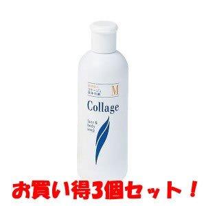 誤解北へ運河(持田ヘルスケア)コラージュM液体石鹸 200ml(お買い得3個セット)