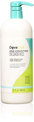 - DevaCurl One Condition Decadence Conditioner; 32oz