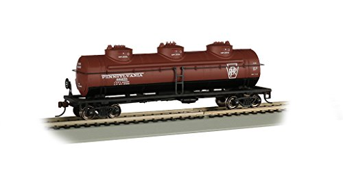 - 40' Three Dome Tank Car - PRR #498655 - HO Scale