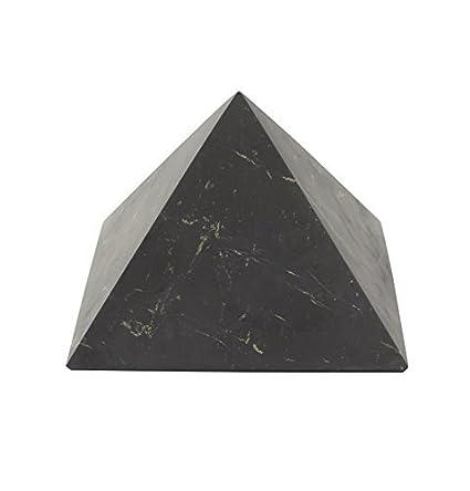 Shungite Unpolished Pyramid 10 cm (4