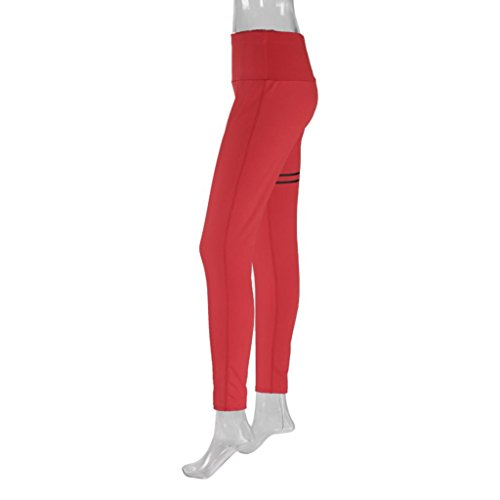 Bokeley Women Yoga Pants, Clearance!Women Patchwork Yoga Fitness Leggings Running Gym Stretch Sports High Waist Tummy Control Pants Trousers