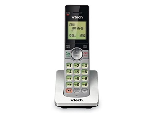 - VTech CS6909 Accessory Cordless Handset for VTech 6919-x or 6929-x Series Cordless Phone Systems, Silver/Black