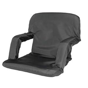Cascade Mountain Tech Portable Reclining Seat (Black)