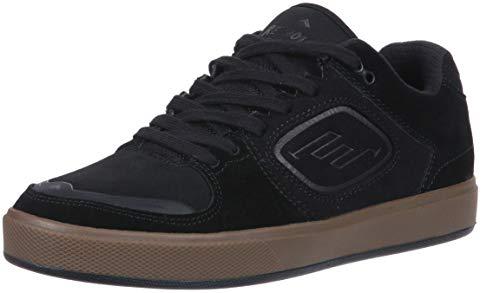 (Emerica Men's Reynolds G6 Skate Shoe, Black/Gum, 11 Medium US)