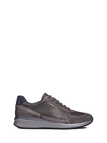 Basses Sneakers Geox Dennie C9004 B Gris U Homme anthracite qwqHvR