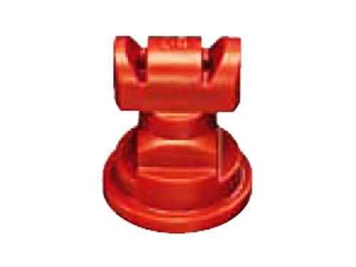 TeeJet TTJ60-11004VP Turbo TwinJet Spray Tip, 0.28-0.60 GPM, 20-90 psi, polymer - Red ()
