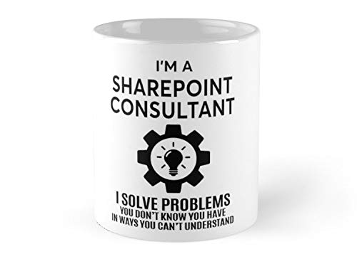 Sharepoint Consultant Nice Design 2017 11oz Mug - Made from Ceramic - Great gift for family and friends