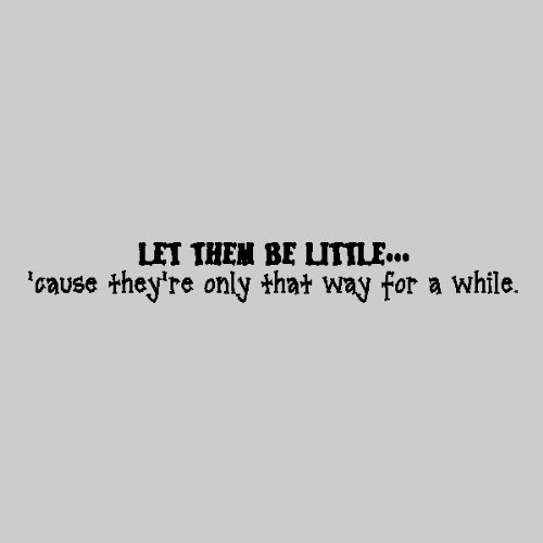 Amazoncom Let Them Be Littlechildrens Room Wall Quotes Words