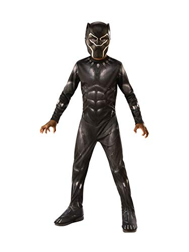 Rubie's Marvel: Avengers Endgame Child's Black Panther Costume & Mask, Medium