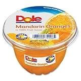 Dole Fruit Bowl Mandarin Oranges, 7 oz