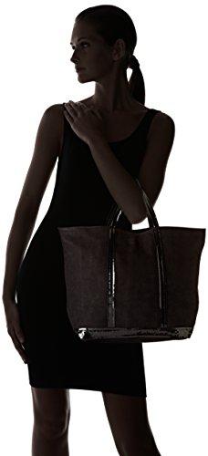 Vanessa Bruno 0Pvd21-V40414 - Bolso de tela para mujer talla única Negro