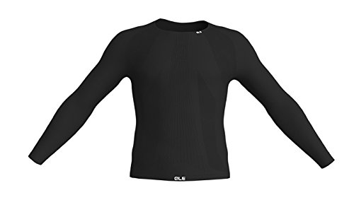 ALE – Seamless Long Sleeve Base Layer, Farbe Carbon, Größe S-M