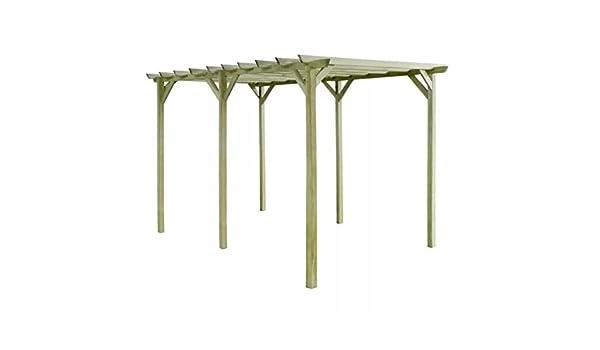 Gran estructura de jardín al aire libre madera Arbour Gazebo patio ...