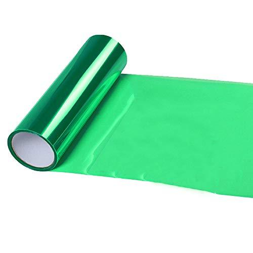 Shiny Chameleon Auto Car Green Light Headlight Taillight Tint Vinyl Film Sticker 48x12inches (Green)
