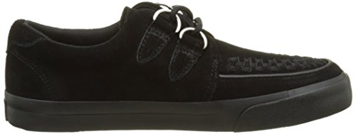 Basses Black Suede Creeper D Adulte VLK Ring U K Baskets T Suede Black Noir Sneaker Mixte xq8fv6X