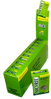 Nicfree Cigarette Filters For Smokers - 10 Packs