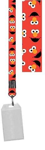 Sesame Street Elmo Lanyard with Badge Holder - Elmos Shape