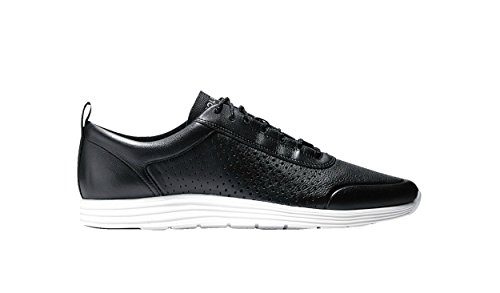 Cole Haan Hommes Grand Sport Perforated Ii Mode Sneaker Chaussures Noir Optique Blanc