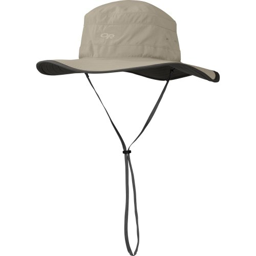 Outdoor Research Women's Solar Roller Hat (Khaki/Dark Grey, Medium)