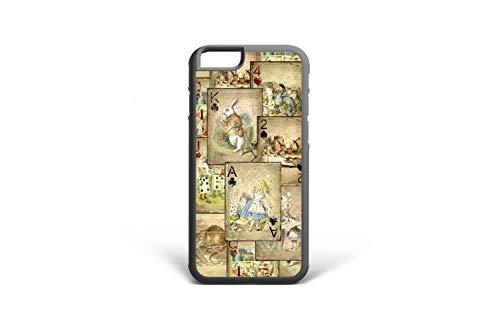 Koldan Samsung Note 9 Note 8 Case Alice in Wonderland Cards S6 S7 Edge S8 Plus Samsung S9 Plus iPhone 5 5S SE Cover iPhone XS Max X XR White Rabbit Tea Party iPhone 6 6S Plus 7 8 8 Plus 7 Plu 2mda81