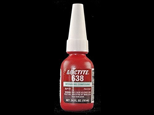 LOCTITE 638 10 mL 1835937 Maximum Strength Retaining Compound 10/EA by Loctite