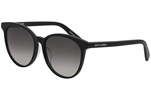 (Sunglasses Saint Laurent SL 204 /K- 001 BLACK/GREY)