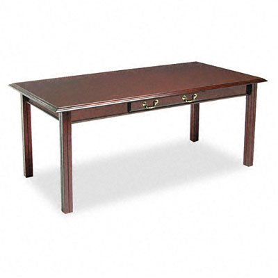 DMI 735088 Governor's Series 72 by 36 by 30-Inch Table Desk, Mahogany