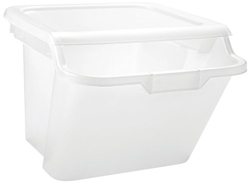 cle Storage Bin, 6 Pack, Clear ()