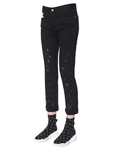 Noir Jeans Mccartney 372773smh141069 Femme Coton Stella waPZqO