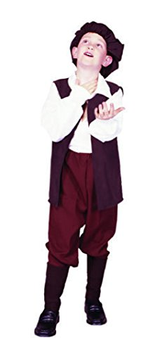 Priest Or Monk Wig (OvedcRay Renaissance Boy Costume Peasant Medieval Child Shakespeare Play Costumes)