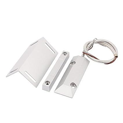 eDealMax Conjunto OZ-55ZL Hierro Puerta enrollable No + NC interruptor de láminas magnético w