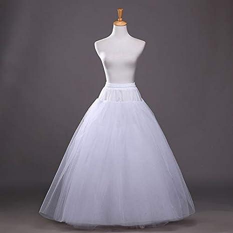 OuYou Enaguas Mujer Largas para Vestidos de Novia Boda Faldas ...