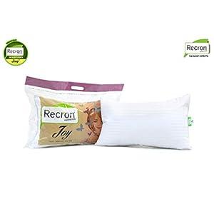 Recron Certified Joy Fibre Pillow – 41 cm x 61 cm, White