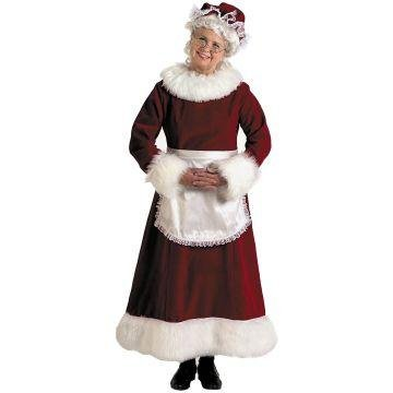 Mrs. Claus Costume XXLarge Dress Size 20-24 (Mrs Claus Plus)