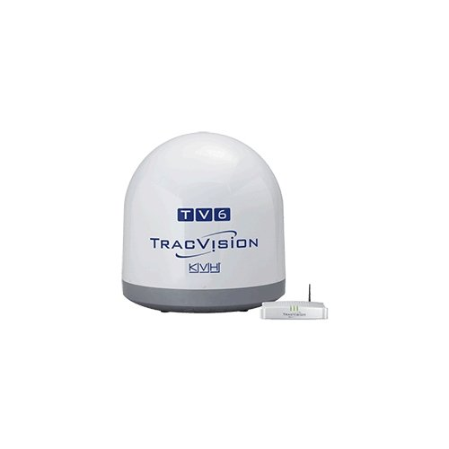 KVH TracVision TV6, MFG# -01-0369-07. Satellite TV system for North American systems. 24