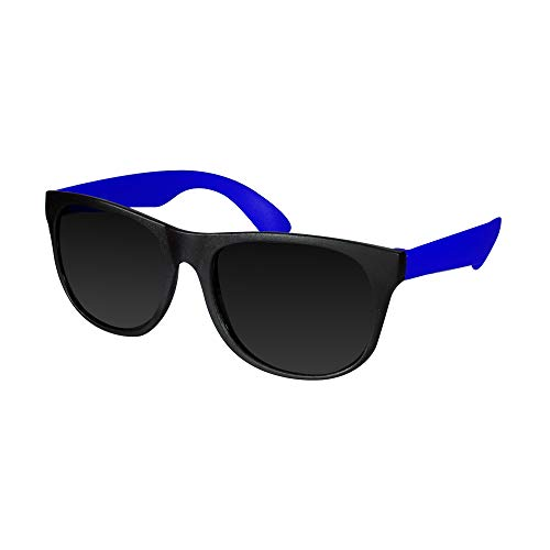 Retro Neon Colorful Arm Sunglasses for Adults Kids Party Favors - 12 Pack -