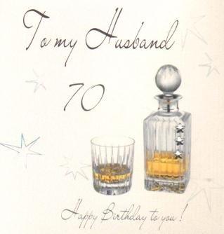 Husband 70th birthday handmade birthday card amazon kitchen husband 70th birthday handmade birthday card bookmarktalkfo Images