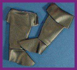 Alexander Costume 11-183 Child Pirate Boot Spats, Small - Medium (Spat Boots)