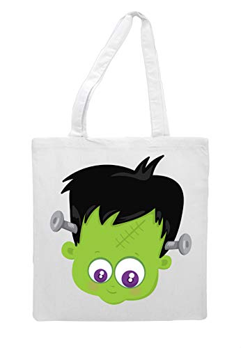 Tote Cute White Face Shopper Bag Frankenstein Halloween Character xS0IrwFqS