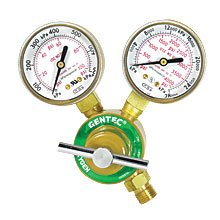 GENTEC 710X-80 Light/Medium Duty Oxygen Compressed Gas Regulator by Gentec