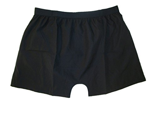 Stashitware Large, Black, Mens Secret Pocket Underwear, Boxers, 100% Polyester (Best Place To Sell Sewing Machine)
