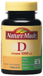 Nature Made Vitamin D 1000 IU 300 Tablets