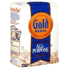 Gold Medal All Purpose Flour, 80-Ounce (Pack of 8) (Enriched Bleached Wheat Flour)